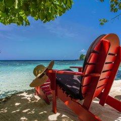 Отель Geejam Ямайка, Порт Антонио - отзывы, цены и фото номеров - забронировать отель Geejam онлайн пляж фото 2