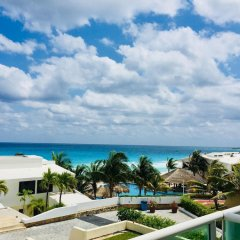 Отель Condominios Brisas Cancun Zona Hotelera пляж фото 2