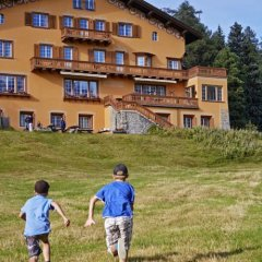 Отель Chesa Spuondas Швейцария, Санкт-Мориц - отзывы, цены и фото номеров - забронировать отель Chesa Spuondas онлайн приотельная территория фото 2