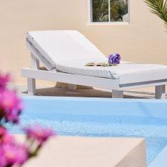 Отель Marina's Studios Греция, Остров Санторини - отзывы, цены и фото номеров - забронировать отель Marina's Studios онлайн бассейн фото 2