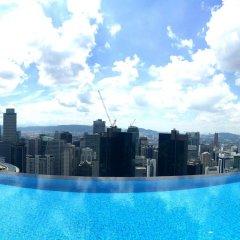 Отель De Platinum Suite Малайзия, Куала-Лумпур - отзывы, цены и фото номеров - забронировать отель De Platinum Suite онлайн бассейн фото 2