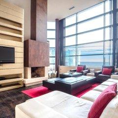 Отель Rent Top Apartments Beach-Diagonal Mar Испания, Барселона - отзывы, цены и фото номеров - забронировать отель Rent Top Apartments Beach-Diagonal Mar онлайн интерьер отеля фото 3