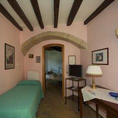 Отель Albergo Villa Cristina Сполето комната для гостей