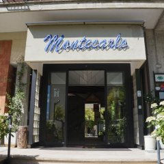 Hotel Montecarlo Кьянчиано Терме вид на фасад