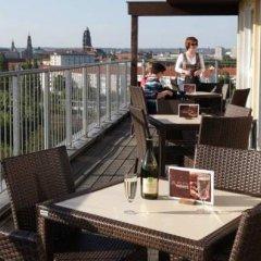 Отель a&o Dresden Hauptbahnhof балкон