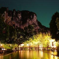Курортный отель Aonang Phu Petra Resort Ао Нанг приотельная территория