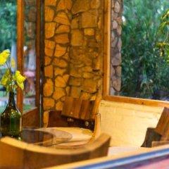 Отель Cabañas Y Suites Villa Bonita Вейнтисинко де Майо бассейн фото 3