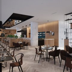 Отель Four Points by Sheraton Warsaw Mokotow гостиничный бар