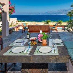 Отель Aegean Blue Villa питание