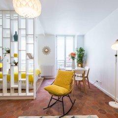 Апартаменты BP Apartments - Baudry Apartments Париж комната для гостей фото 2