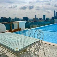 Отель Léman Luxury Apartments Вьетнам, Хошимин - отзывы, цены и фото номеров - забронировать отель Léman Luxury Apartments онлайн бассейн фото 3