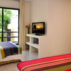 Отель Club Yebo Плая-дель-Кармен комната для гостей фото 5