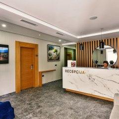 Отель Lusso Mare Черногория, Будва - отзывы, цены и фото номеров - забронировать отель Lusso Mare онлайн интерьер отеля фото 3