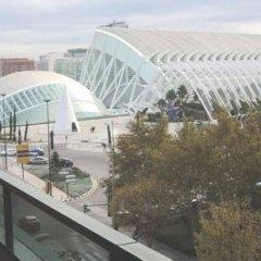 Отель Aqua Apartments Oceanográfico Испания, Валенсия - отзывы, цены и фото номеров - забронировать отель Aqua Apartments Oceanográfico онлайн балкон