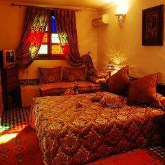 Отель Riad La Perle De La Médina Марокко, Фес - отзывы, цены и фото номеров - забронировать отель Riad La Perle De La Médina онлайн комната для гостей фото 2