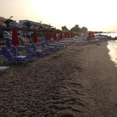 Отель Elinotel Polis Hotel Греция, Ханиотис - отзывы, цены и фото номеров - забронировать отель Elinotel Polis Hotel онлайн пляж фото 2