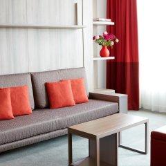 Отель Aparthotel Adagio Frankfurt City Messe комната для гостей