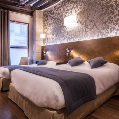 Отель De Senlis Франция, Париж - 1 отзыв об отеле, цены и фото номеров - забронировать отель De Senlis онлайн комната для гостей фото 5