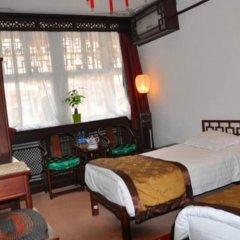 Отель Lu Song Yuan Китай, Пекин - отзывы, цены и фото номеров - забронировать отель Lu Song Yuan онлайн комната для гостей фото 5