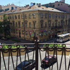 Art Hostel Galereya Санкт-Петербург балкон