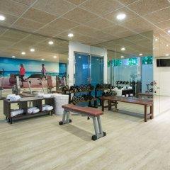 Отель Iberostar Albufera Playa Испания, Плайя-де-Муро - 1 отзыв об отеле, цены и фото номеров - забронировать отель Iberostar Albufera Playa онлайн фитнесс-зал