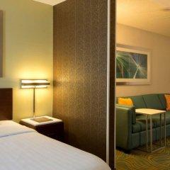 Отель Springhill Suites Columbus Airport Gahanna США, Гаханна - отзывы, цены и фото номеров - забронировать отель Springhill Suites Columbus Airport Gahanna онлайн комната для гостей фото 4