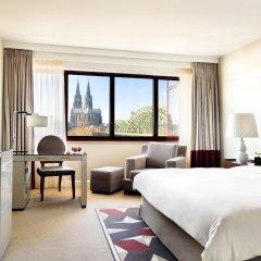 Отель Hyatt Regency Köln Германия, Кёльн - 1 отзыв об отеле, цены и фото номеров - забронировать отель Hyatt Regency Köln онлайн комната для гостей фото 4