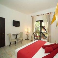 Отель Kinbe Deluxe Boutique Плая-дель-Кармен комната для гостей
