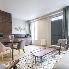 Апартаменты Luxury Apartment In Paris - République Париж комната для гостей фото 4