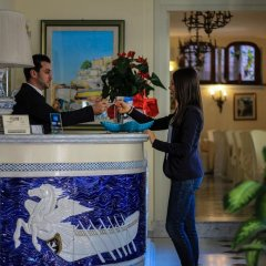 Hotel Santa Lucia Минори интерьер отеля фото 3