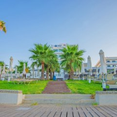 Silver Sands Beach Hotel Протарас приотельная территория фото 2