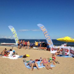 Hostel Gdansk Sun and Sea пляж фото 2