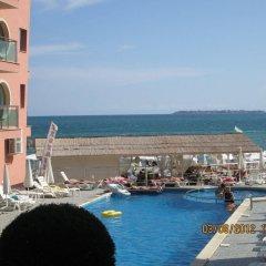 Отель Sunny Beauty Aparthotel Солнечный берег пляж фото 2