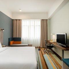 Отель Holiday Inn Express Shenzhen Luohu Китай, Шэньчжэнь - отзывы, цены и фото номеров - забронировать отель Holiday Inn Express Shenzhen Luohu онлайн комната для гостей