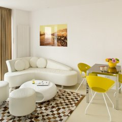 Отель VISIONAPARTMENTS Warsaw Grzybowska комната для гостей