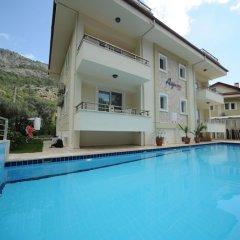 Ay Hotel Gocek Турция, Мугла - отзывы, цены и фото номеров - забронировать отель Ay Hotel Gocek онлайн бассейн фото 3