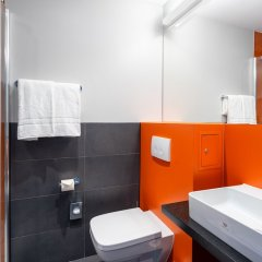 Отель 7 Days Premium Munich-sendling Мюнхен ванная