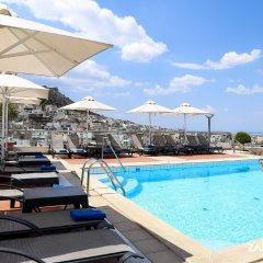 Athens Zafolia Hotel бассейн
