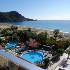 Xperia Saray Beach Hotel Турция, Аланья - 10 отзывов об отеле, цены и фото номеров - забронировать отель Xperia Saray Beach Hotel онлайн пляж
