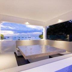 Отель Villa 7th Heaven Beach Front На Чом Тхиан бассейн фото 3