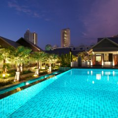 Отель Long Beach Luxury Villas бассейн фото 3