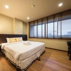 Отель The Tepp Serviced Apartment Таиланд, Бангкок - отзывы, цены и фото номеров - забронировать отель The Tepp Serviced Apartment онлайн комната для гостей фото 4
