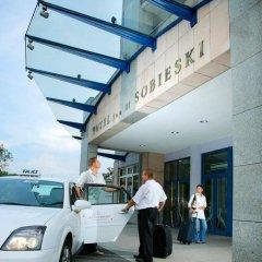 Radisson Blu Sobieski Hotel городской автобус