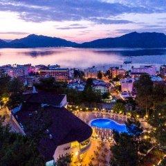 Ideal Panorama Hotel Турция, Мармарис - отзывы, цены и фото номеров - забронировать отель Ideal Panorama Hotel - All Inclusive онлайн приотельная территория