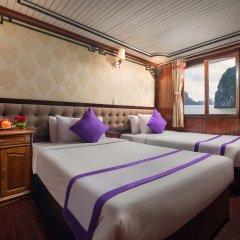 Отель Halong Lavender Cruises комната для гостей фото 5