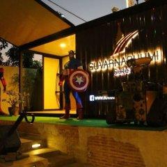 Отель Suvarnabhumi Suite Бангкок интерьер отеля фото 3