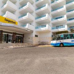 Отель Eix Lagotel парковка