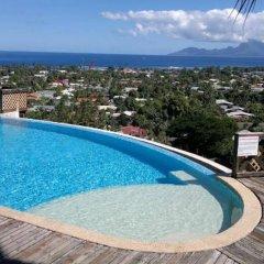 Отель Tahiti Relocation бассейн