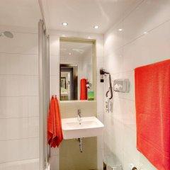 Отель MEININGER Hotel Wien Downtown Franz Австрия, Вена - 5 отзывов об отеле, цены и фото номеров - забронировать отель MEININGER Hotel Wien Downtown Franz онлайн ванная фото 2