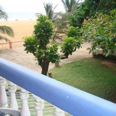 Отель Topaz Beach Шри-Ланка, Негомбо - отзывы, цены и фото номеров - забронировать отель Topaz Beach онлайн балкон